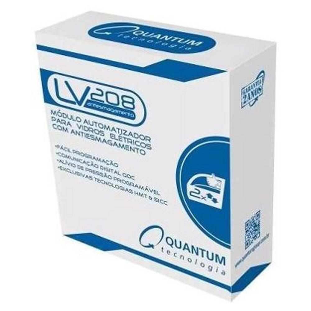 Modulo Quantum LV208 2 Portas c/ Antiesmagamento