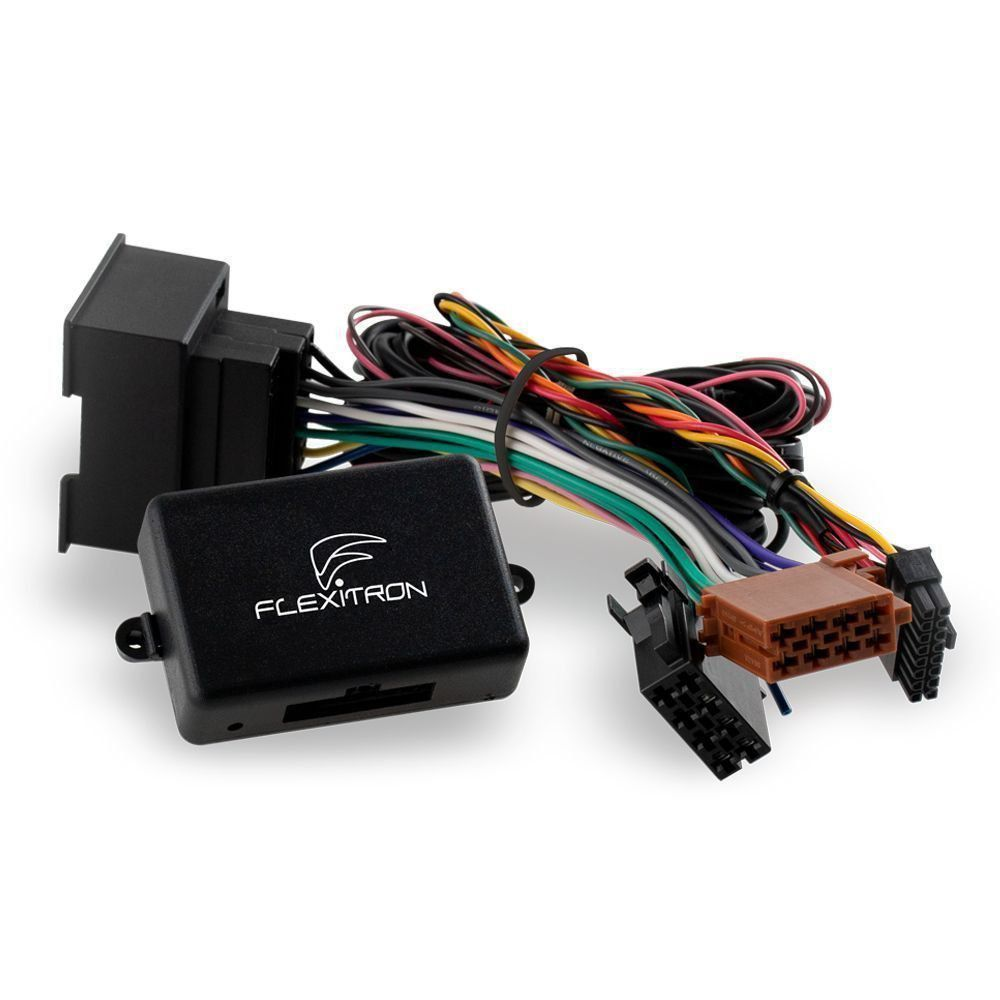 Módulo Interface de Volante Chevrolet Captiva, Cruze, S10, TrailBlazer, Spin, Onix, Sonic e Tracker - Flexitron FIV GM-01 (048)