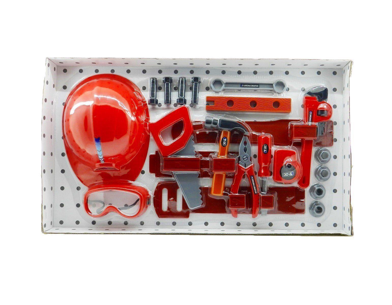 Oficina Criativa Kit de Ferramentas com Capacete Multikids BR796
