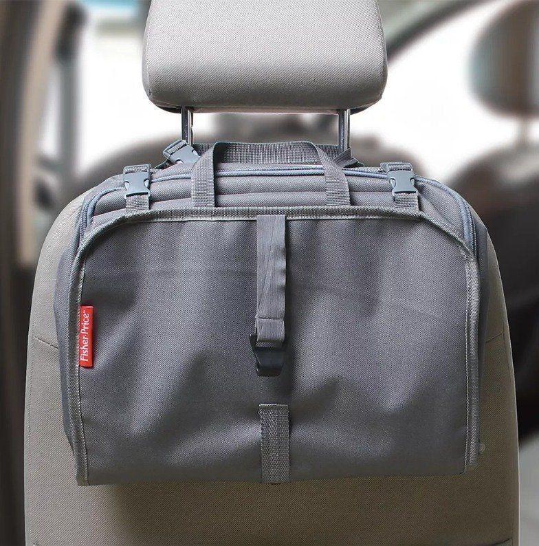 Organizador Para Carro Com Compartimento Tablet Fisher Price BB318
