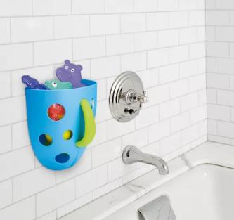 Organizador para Banho Super Scoop da Multikids Baby Azul BB177