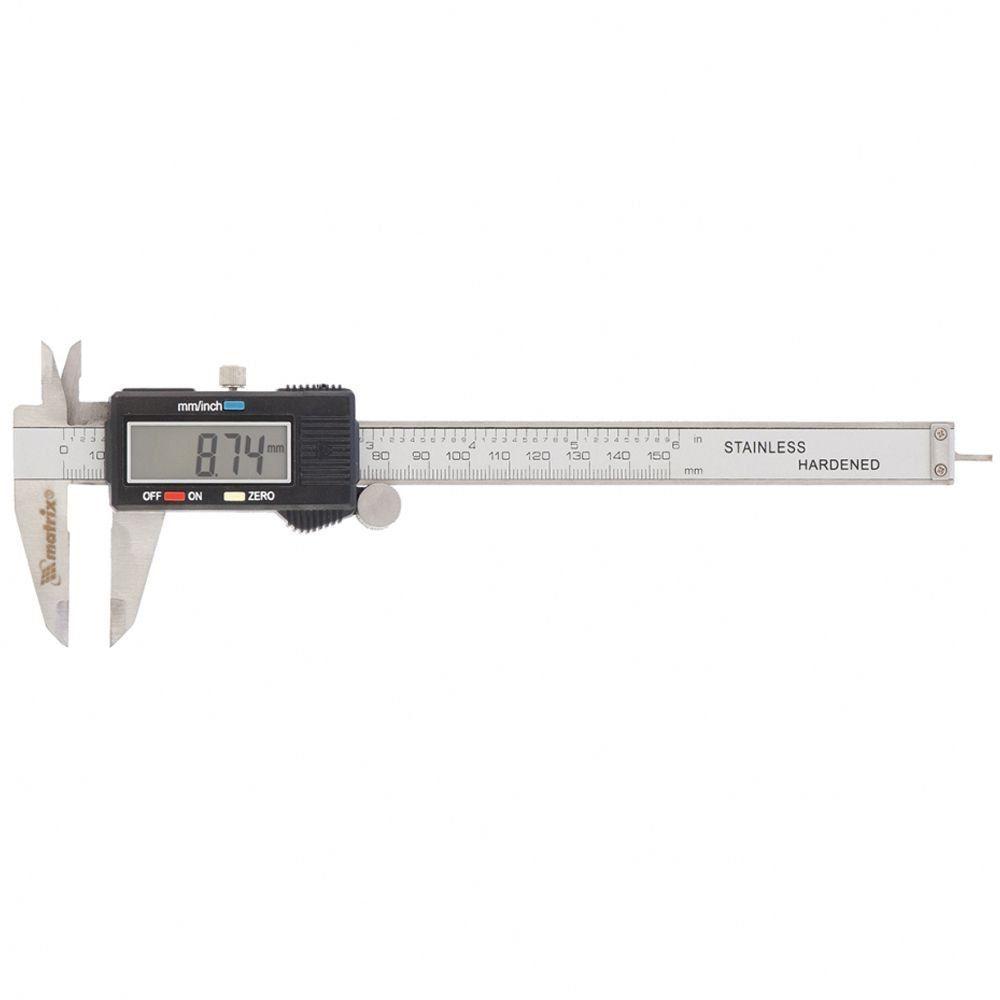 Paquímetro Digital Até 150mm em Aço Inox - MTX