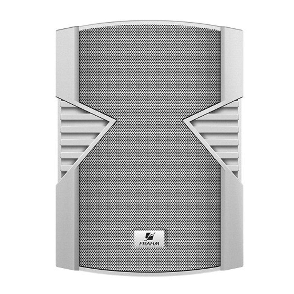 Par Caixa Acústica Som Ambiente Frahm PS6S 100W RMS Branca
