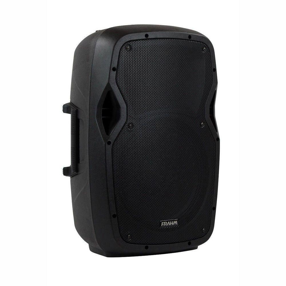 Par de Caixas Amplificada e Passiva Com Tripé Frahm Groov GR12 500W Bluetooth