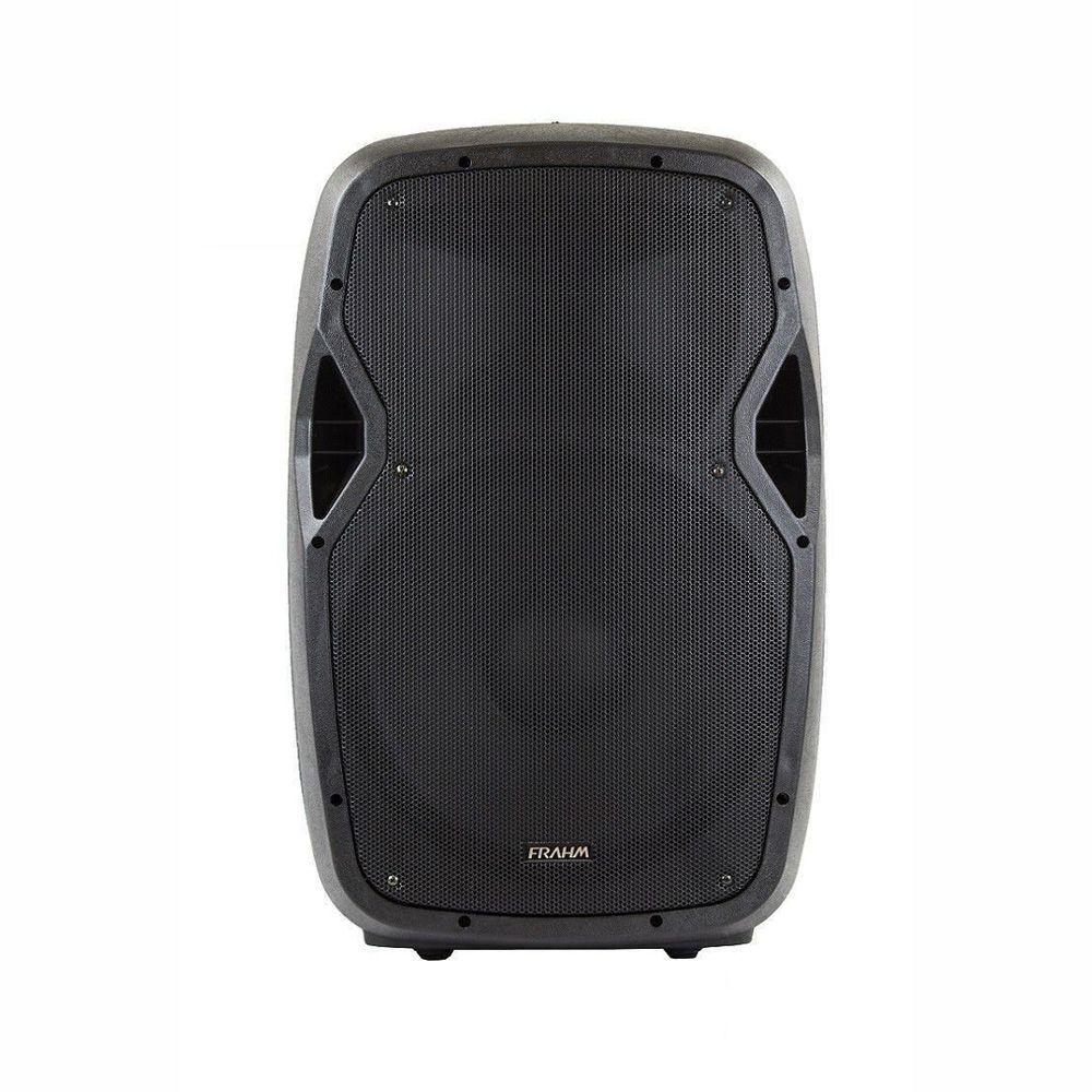 Par de Caixas Amplificada e Passiva Com Tripé Frahm Groov GR15 700W Bluetooth