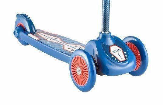 Patinete Infantil Azul 3 Rodas Masculino Atrio Es110