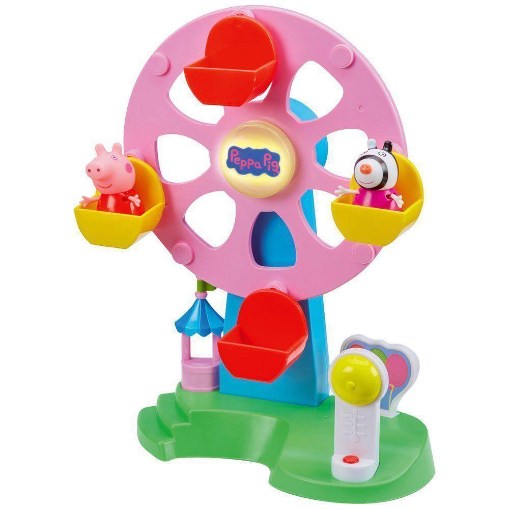Peppa Roda Gigante Com Movimento Som E Luz DTC 4861