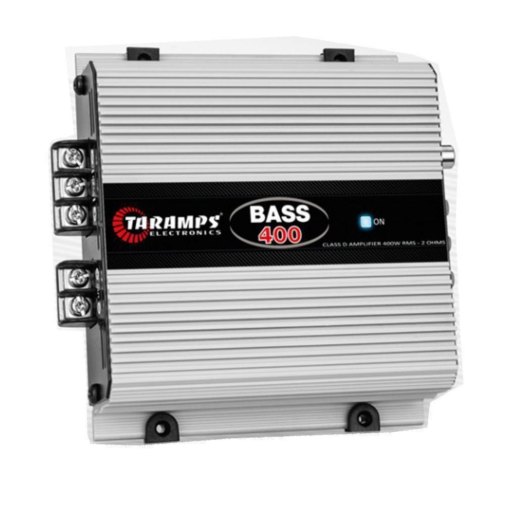 Potência Módulo Amplificador Taramps Bass 400W Rms 2 Ohms 1 Canal