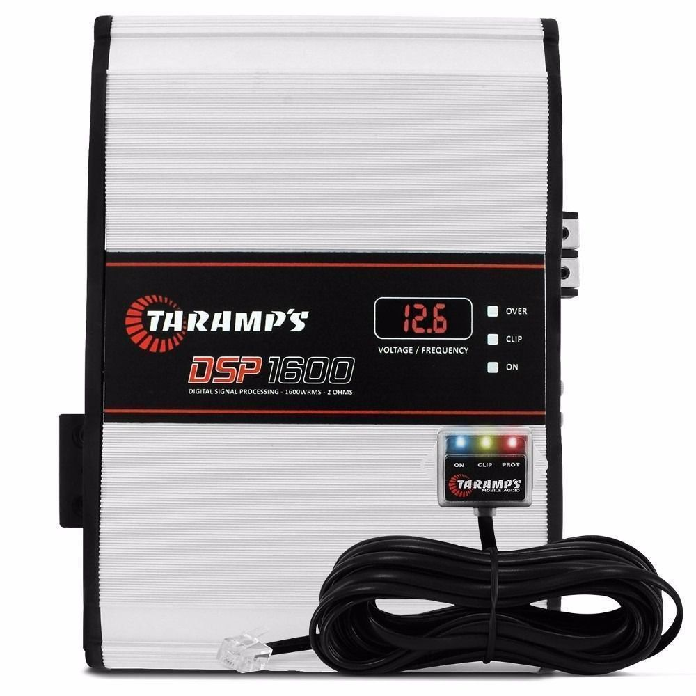 Potência Módulo amplificador Taramps DSP1600 2 Ohms 1 Canal