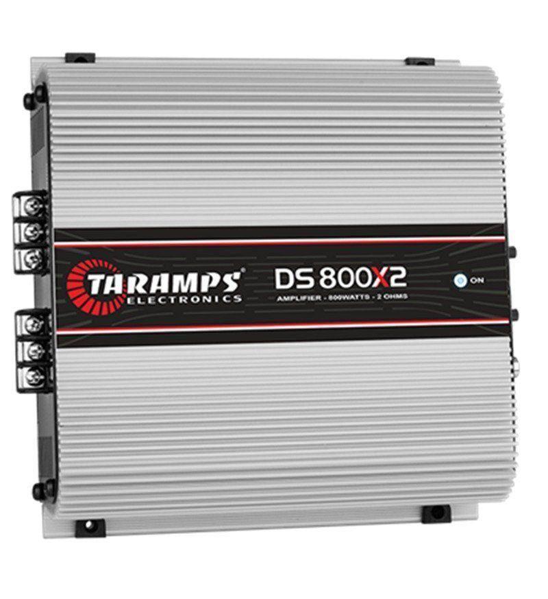 Potência Taramps DS800X2 2 Ohms 2 Canais