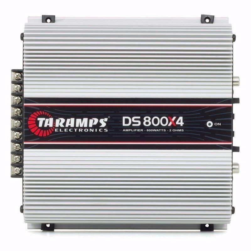 Potência Taramps DS800X4 2 Ohms 4 Canais