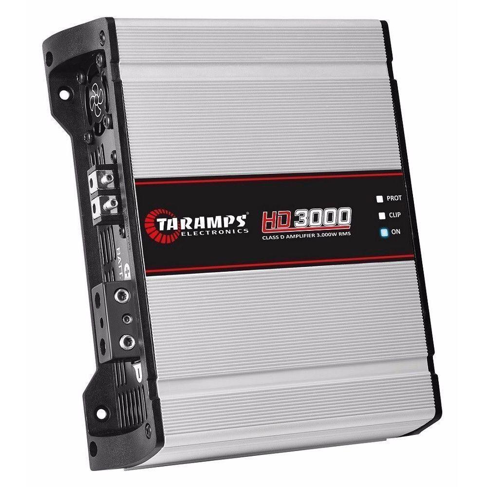 Potência Taramps HD3000 Compact 1 Ohms 1 Canal