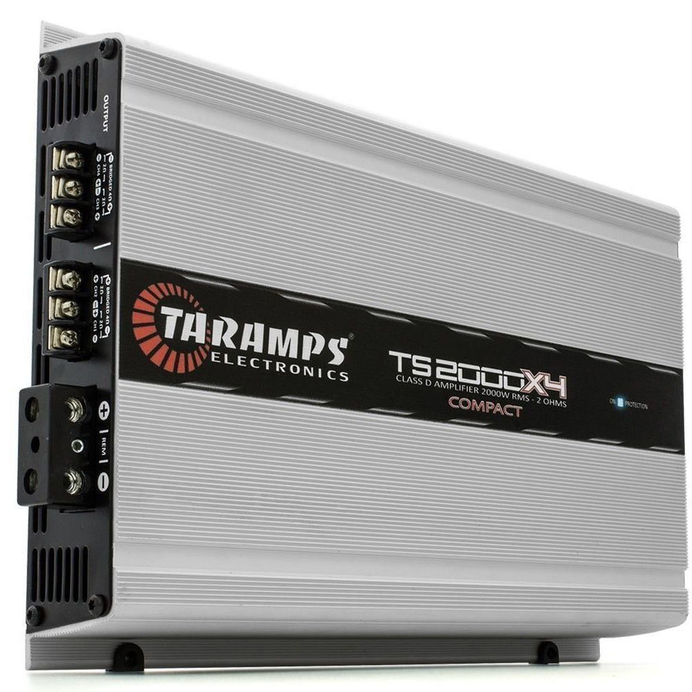 Potência Taramps TS2000X4 2 OHMS Compact