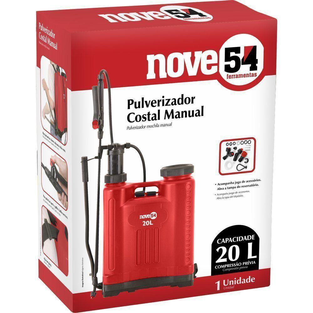 Pulverizador Agricola 20L Nove54