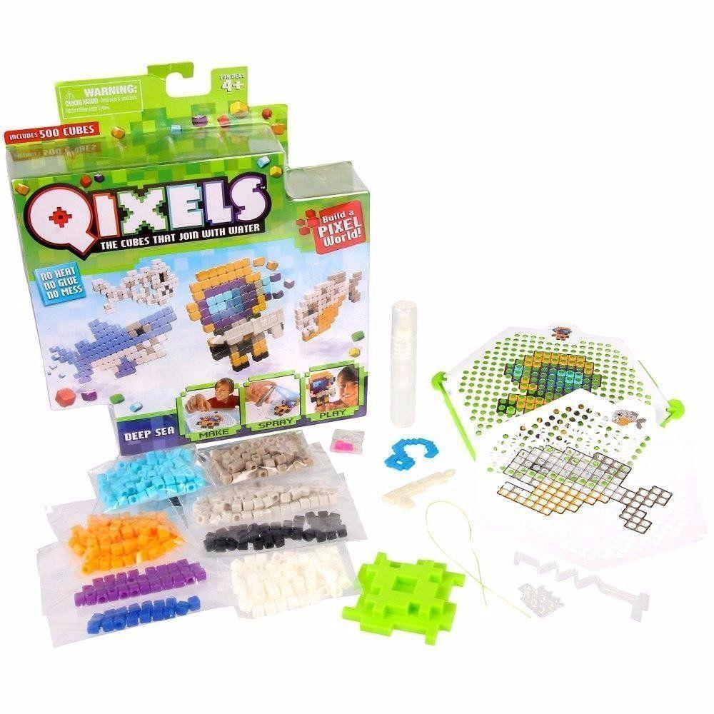 Pixels De Montar Qixels Temático Cubos Multikids Br494