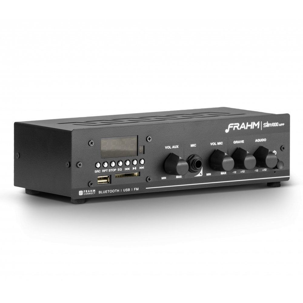 Receiver Amplificador Slim 1000 APP G2 Frahm