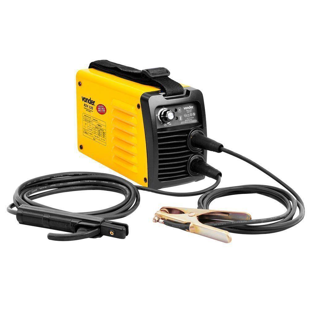 Retificador/Inversor Para Soldagem com Eletrodos Rutílicos 220v RIV 135 Vonder