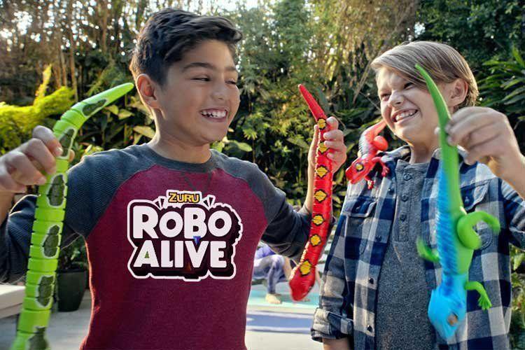 Robô Alive Cobra Jiboia Verde Rasteja Zuru Animais Dtc 4147