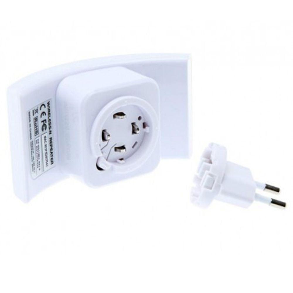 Roteador Repetidor de Sinal Wifi 300MBPS WPS Branco
