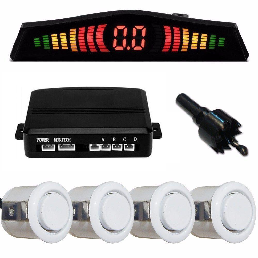 Sensor de Estacionamento 4 Pontos Branco