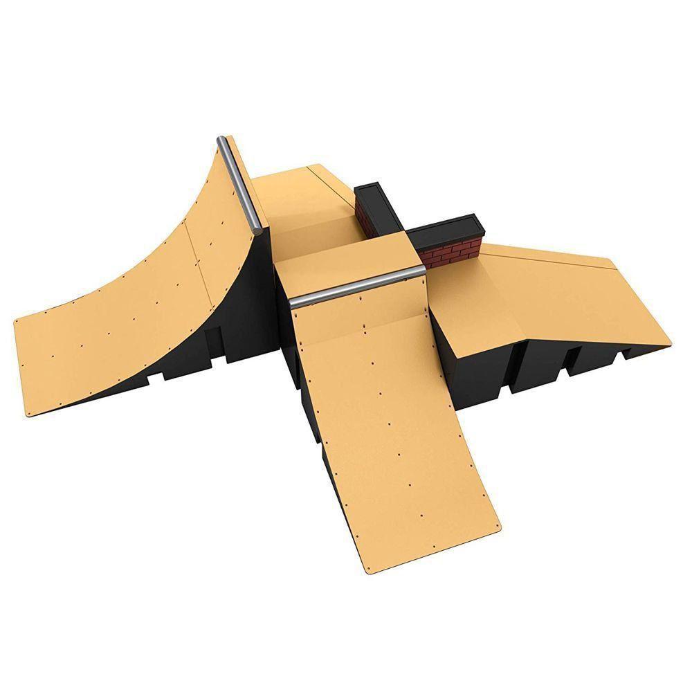 Skate de Dedo + Rampa + Acessórios - Tech Deck Starter Kit - BR341