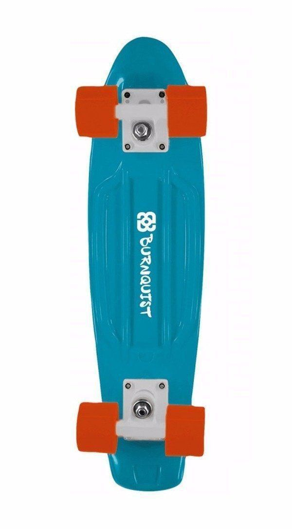 Skate Mini Cruiser Atrio Multilaser Bob Burnquist Azul Es093