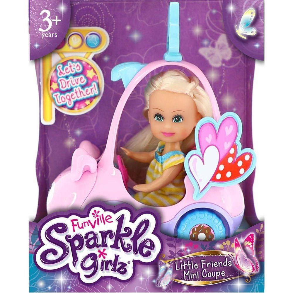 Sparkle Girlz Carro Mini Porquinho Sparkles DTC 4806