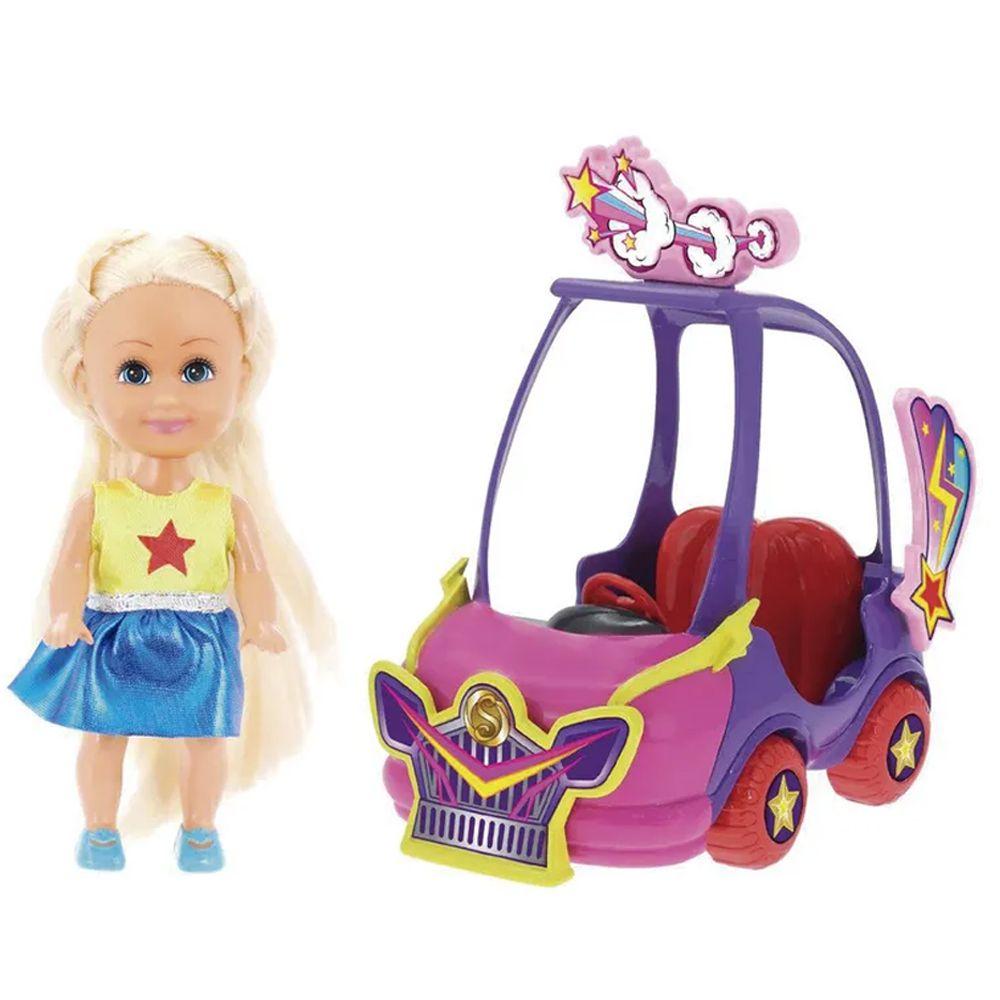 Sparkle Girlz Carro Mini Roxo e Pink Sparkles DTC 4806