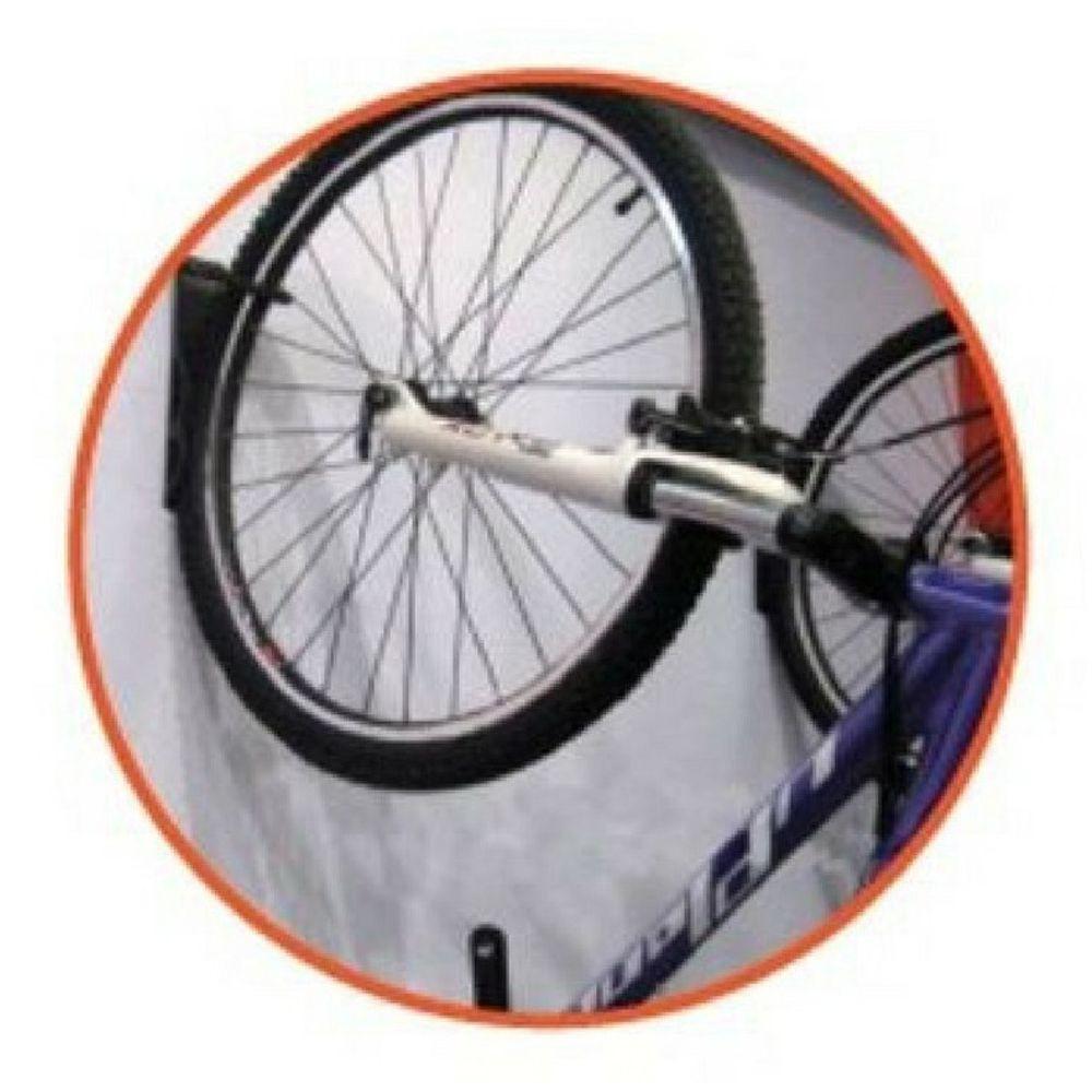 Suporte de Bicicleta Para Parede Aço Carbono Com   - Atrio