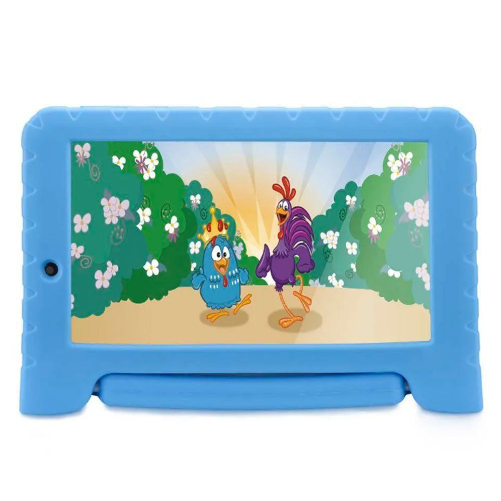 "Tablet Multilaser Galinha Pintadinha Kid Pad 7"" Plus NB282"