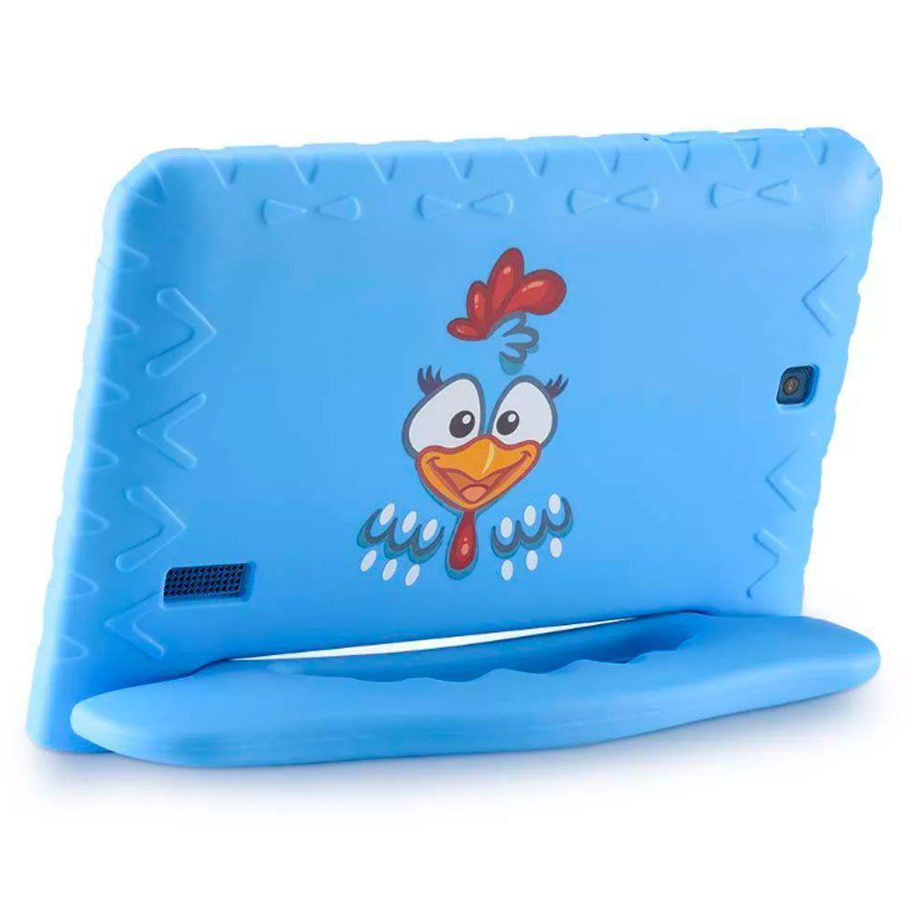 "Tablet Multilaser Galinha Pintadinha Kid Pad 7"" Plus NB282"