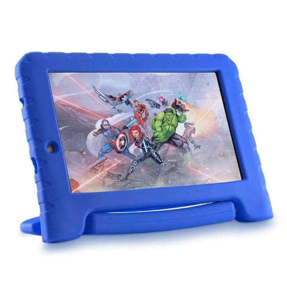 "Tablet Multilaser Marvel Avengers Kid Pad 7"" Plus NB280"