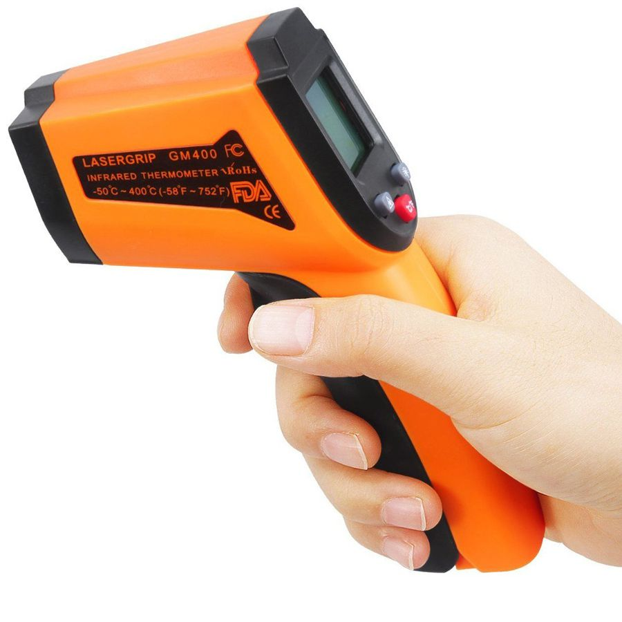 Termômetro Digital Infravermelho com Mira Laser GM 400 (-50° a 400°C)