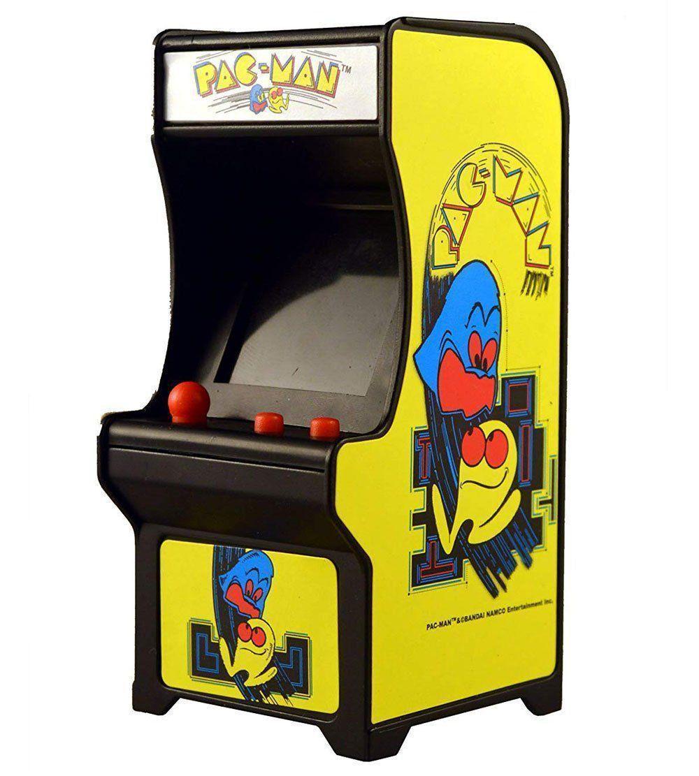 Tiny Arcade Mini Fliperama Retrô Sortidos Com Som Dtc 4788