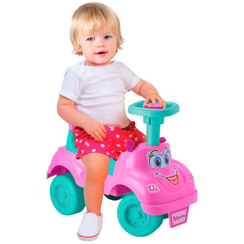 Totokinha Menina Carrinho De Passeio Quadriciclo Infantil