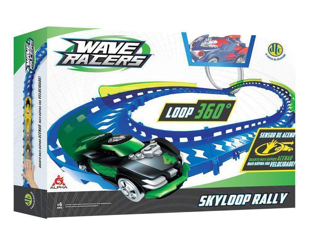 Wave Racers Skyloop Rally 1 Loop 360 + 1 Carro + Sensor Dtc