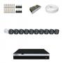 KIT 10 Câmeras Intelbras VHD 1220 B G4 + DVR Intelbras 16 Canais Full HD + Acessórios
