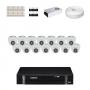 KIT 14 Câmeras Intelbras VHD 1010 D G4 + DVR Intelbras 16 Canais HD + Acessórios