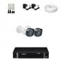 KIT 2 Câmeras Intelbras VHD 1120 B G4 + DVR Intelbras 4 Canais HD + Acessórios