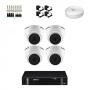 KIT 4 Câmeras Intelbras VHD 1120 D G5 + DVR Intelbras 4 Canais HD + Acessórios