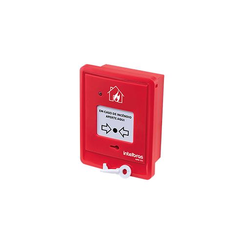 Acionador manual endereçável Intelbras AME 521 sem sirene  - Ziko Shop