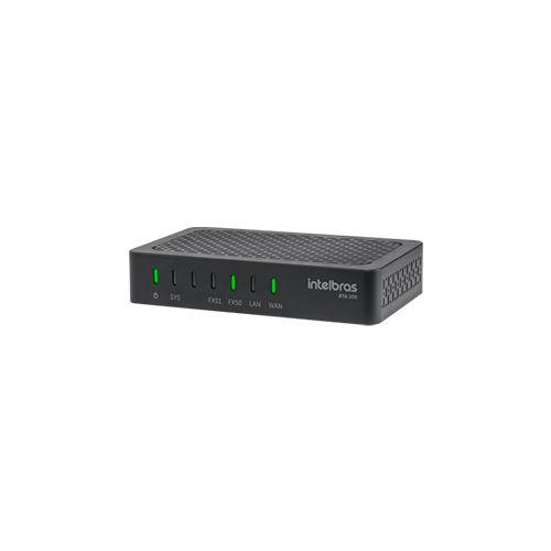 Adaptador IP para Telefone Analógico Intelbras ATA 200  - Ziko Shop