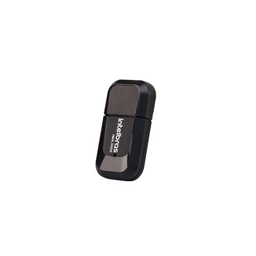 Adaptador USB wireless com antena externa IWA 3000 Intelbras  - Ziko Shop