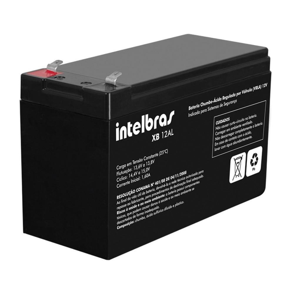 Bateria Intelbras XB 12AL, 12V Para Sistemas de Alarme  - Ziko Shop