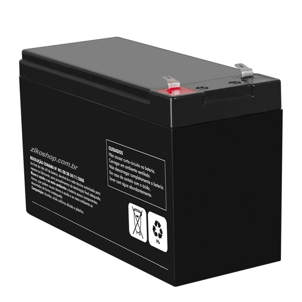 Bateria Para Centrais de Alarme 12V-7.0Ah/20h  - Ziko Shop