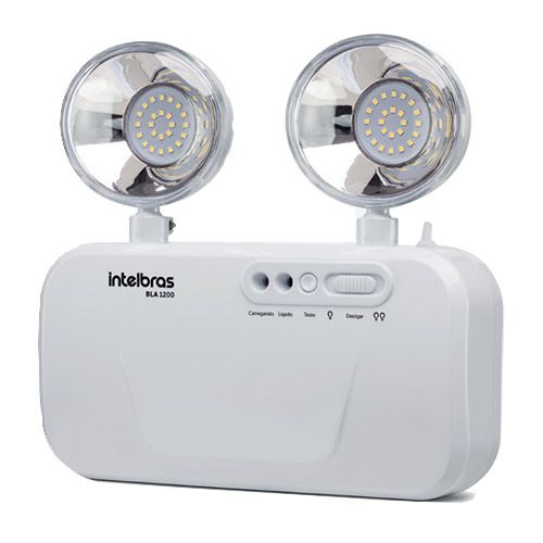 Bloco de iluminação de emergência 1200 lumens BLA 1200 Intelbras  - Ziko Shop