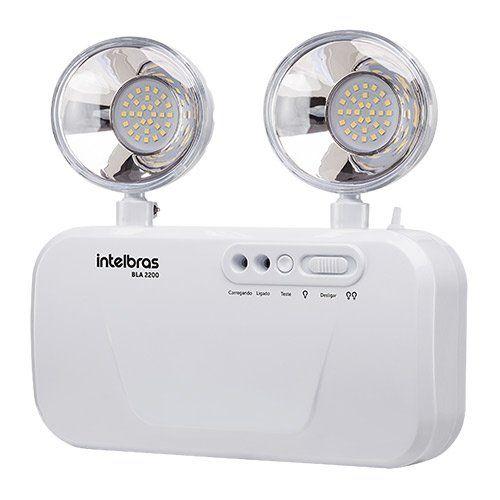 Bloco de iluminação de emergência 2200 lumens BLA 2200 Intelbras  - Ziko Shop