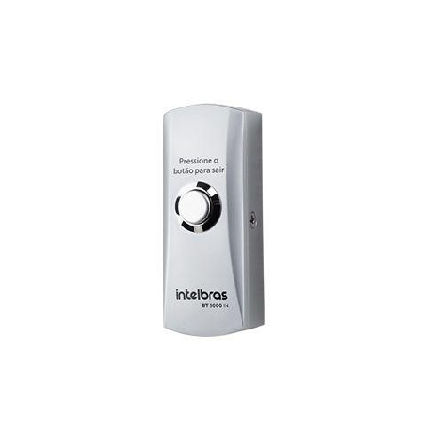 Botão Acionador de Abertura Intelbras BT 3000 IN  - Ziko Shop