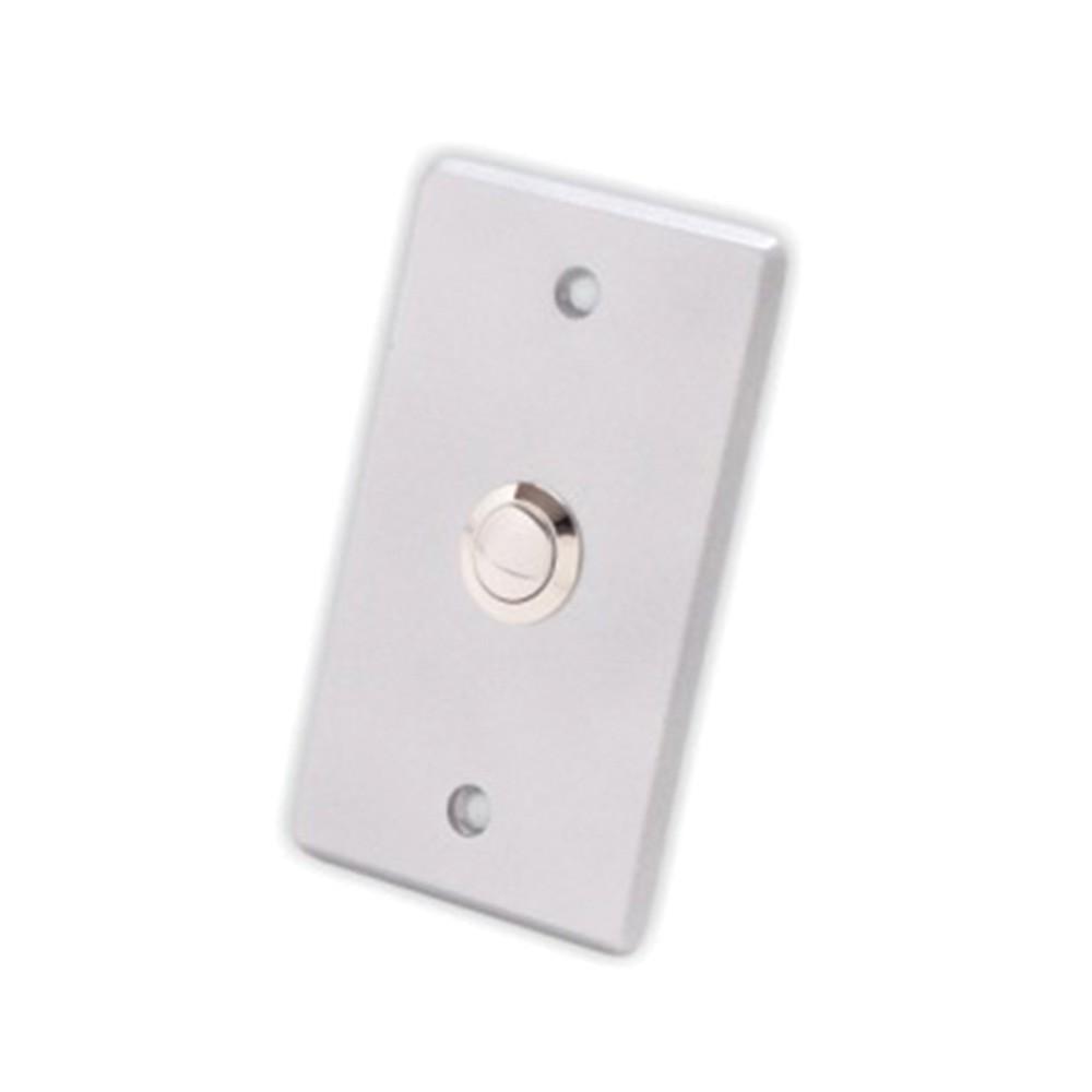 Botão de Saída Automatiza AC6091 Com Moldura Prata  - Ziko Shop