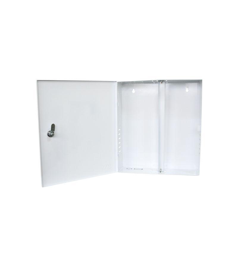Caixa Metalica Organizadora Vertical C/ Chave - Max Eletron  - Ziko Shop